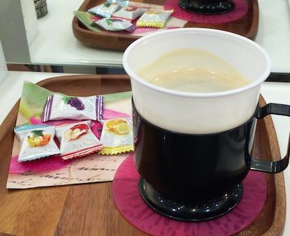 美容院コーヒー