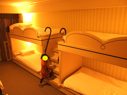 ホテル二段ベッド