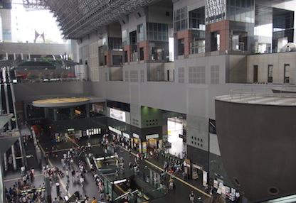 京都駅大きい