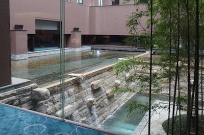 京都東急ホテル中庭