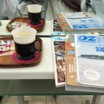 美容院の雑誌とお茶