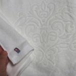 白いバスタオル