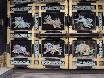 西本願寺唐門の彫刻