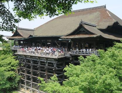 清水寺屋根