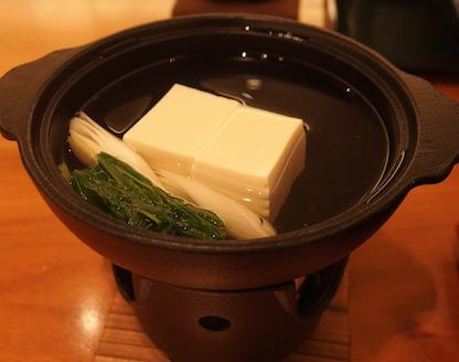 たん熊 湯豆腐
