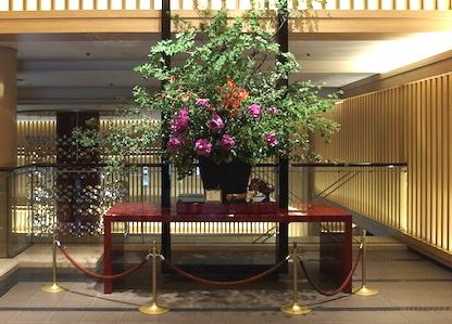 京都東急ホテルエントランス