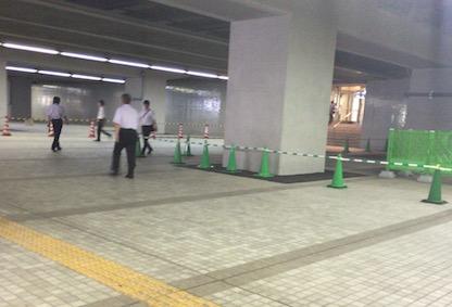 都庁の下駐車場