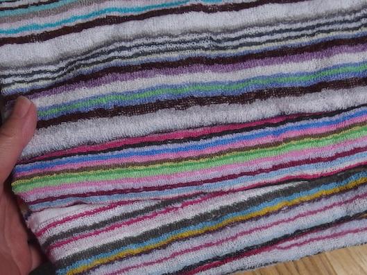 ハンズメッセのタオル