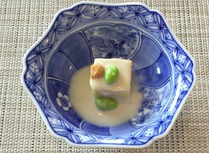 懐石「豆腐」