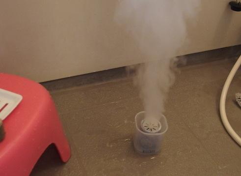 お風呂の防カビくん煙