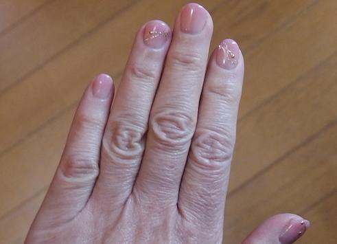 ネイルの手