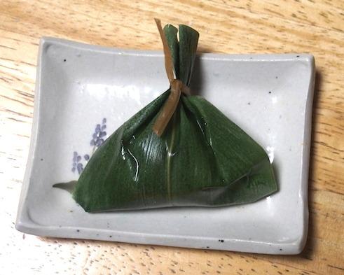 笹のデザート1