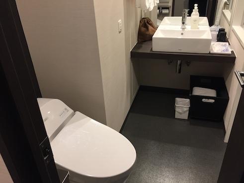 ダイワロイホテル千葉のトイレ