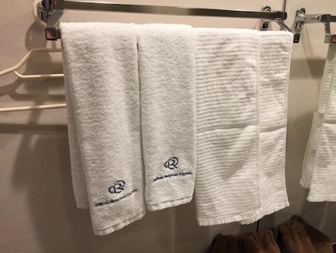 ダイワロイホテルのタオル