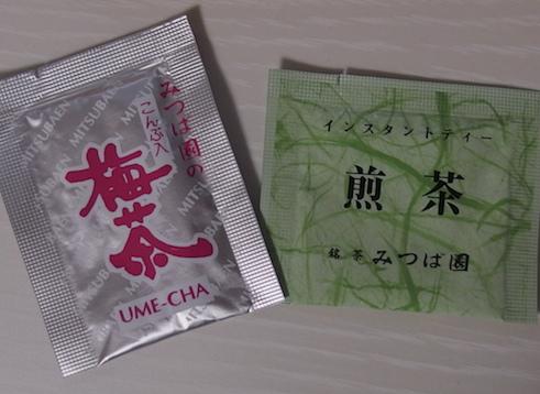 梅茶、こぶ茶