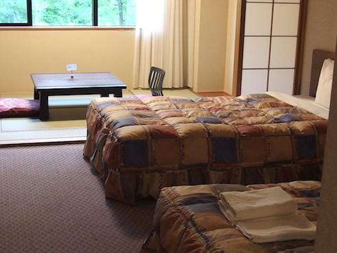 八ヶ岳ロイヤルホテル部屋