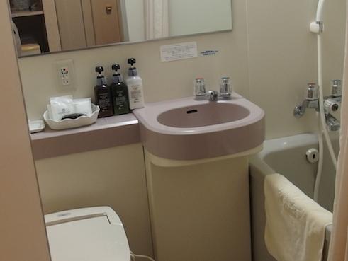 八ヶ岳ロイヤルホテルのトイレ
