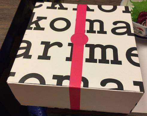 マリメッコの箱