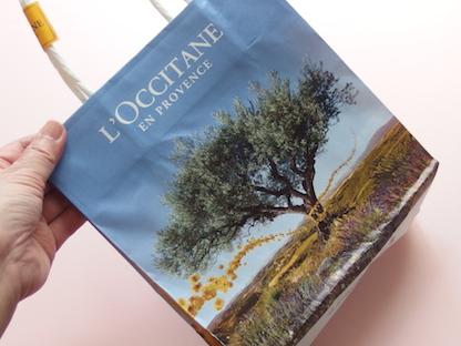 ロクシタンの袋