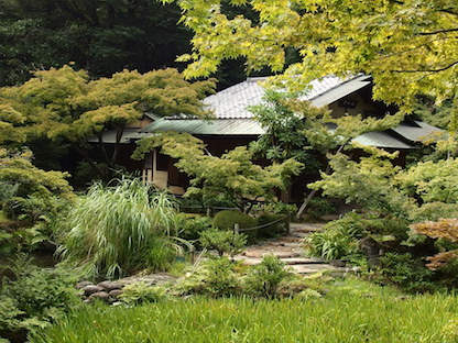 根津美術館の庭園1