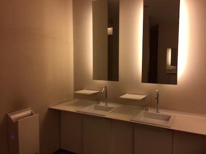 根津美術館のトイレ