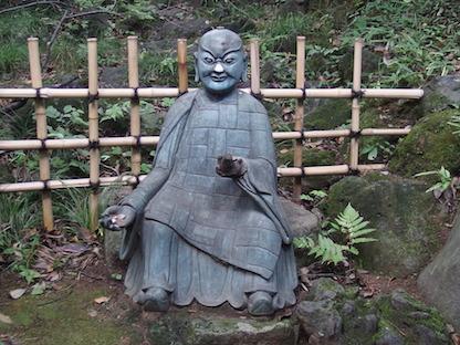 根津美術館の像