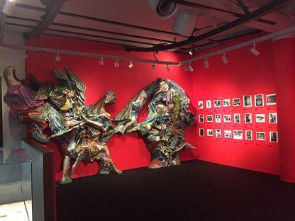 展示室オブジェ
