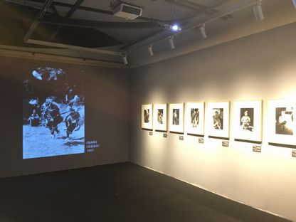 岡本太郎記念館スライド上映