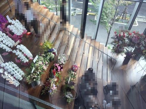 exシアターカフェへの階段