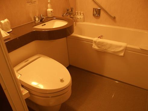アンダリゾートのトイレ