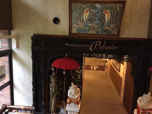 アンダリゾートレストラン入り口