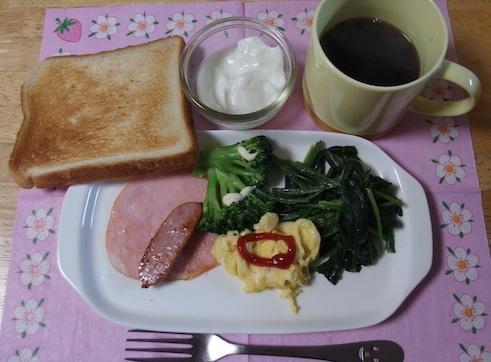 朝の食事モーニング