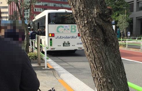 オンワード送迎バス