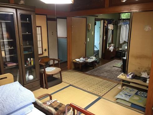 実家の部屋
