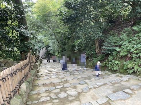 彦根城への坂道